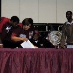 Deandre Jordan signing to Texas A&M